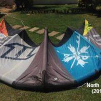 North EVO 7m (2012) +barre - état impeccable - kite polyvalent et fiable