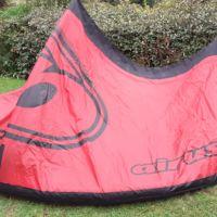 Aile kitesurf airush Dna 8m2 + barre